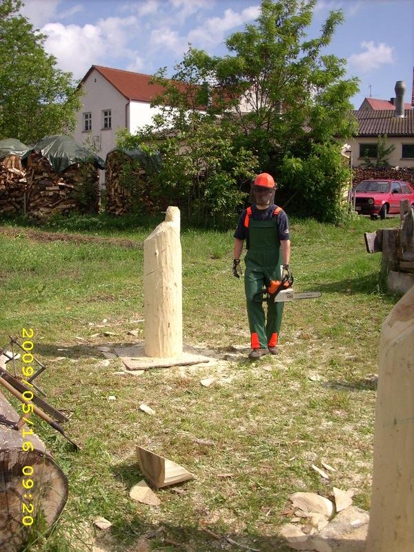 Holzwerkstatt hassold carvingkurse und motorsägenkunst